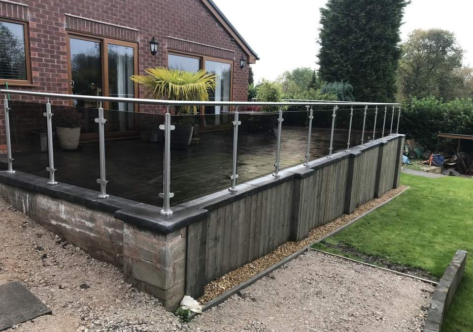 Glass Balustrade – project 9