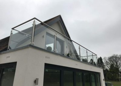 Glass Balustrade – project 11