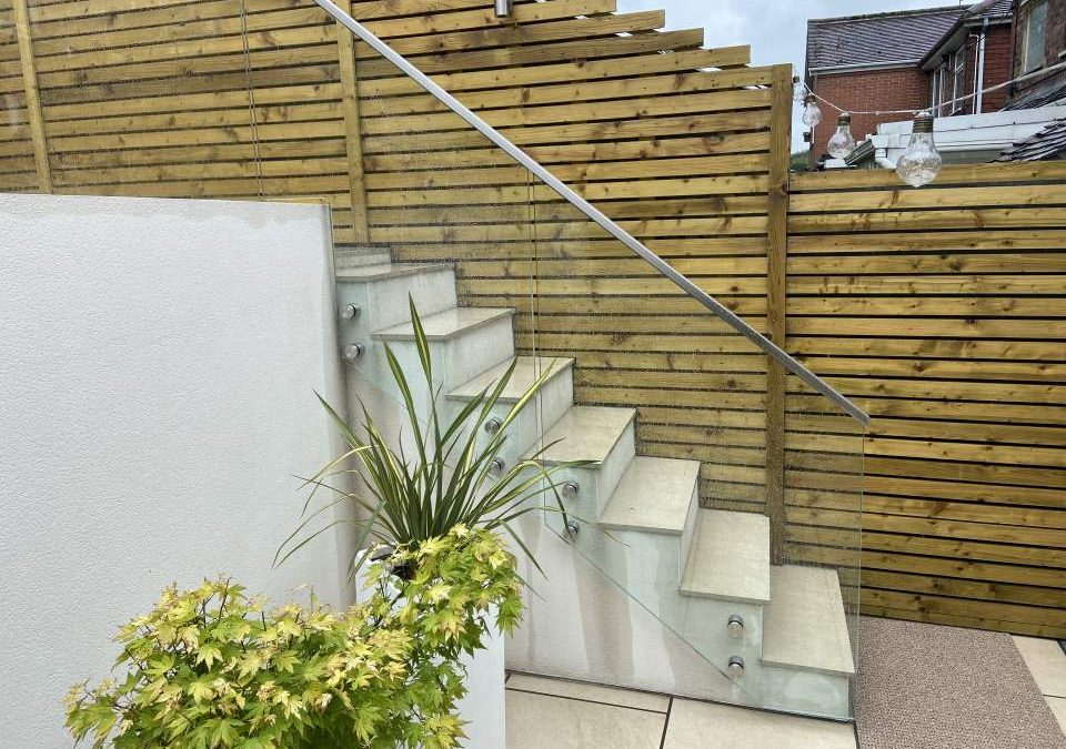 Glass Balustrade – project 14