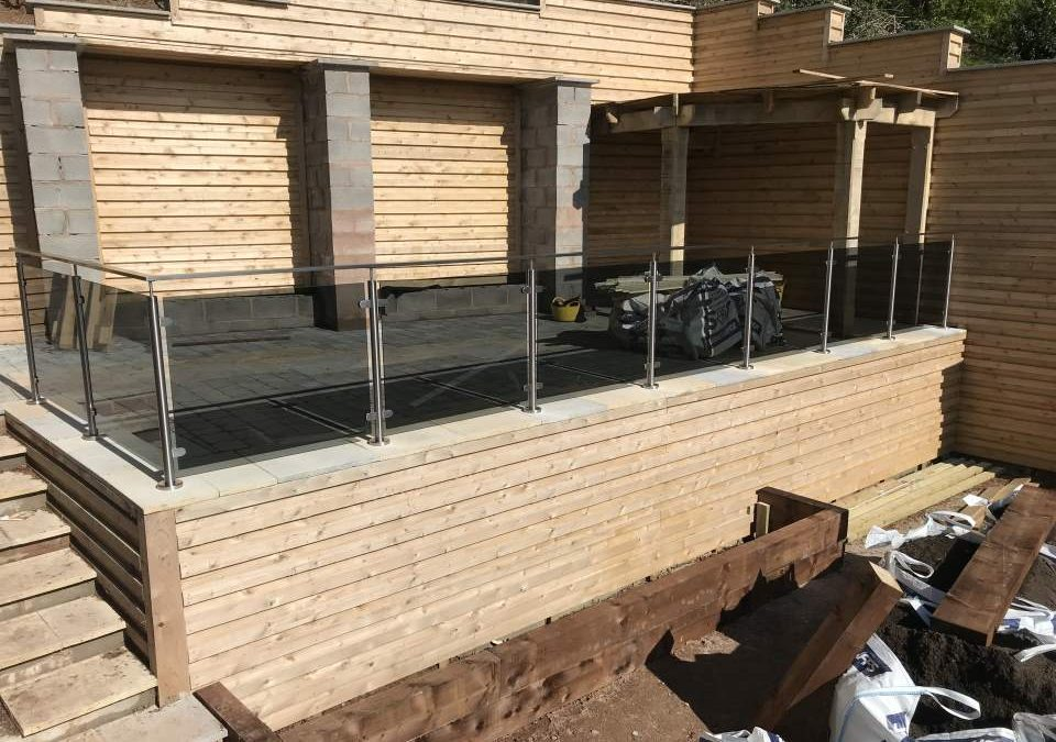 Glass Balustrade – project 15