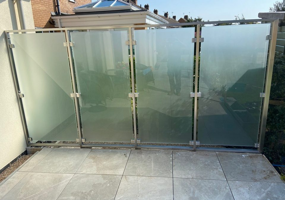 Glass Balustrade – project 16