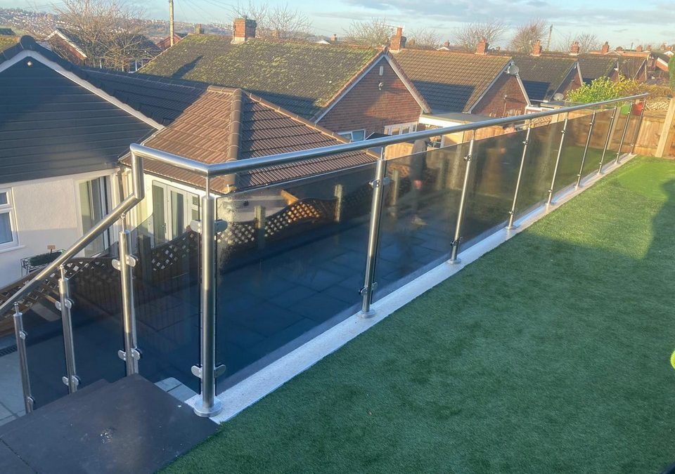 Glass Balustrade – project 19