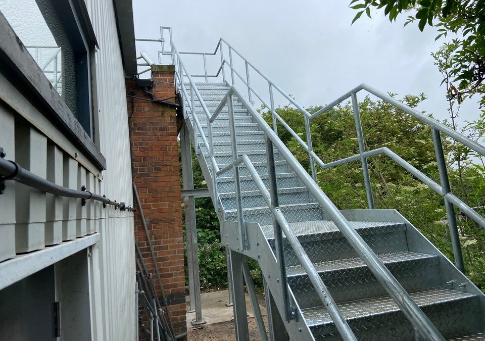 Fire Escapes / Access Stairs & Platforms – Project 9