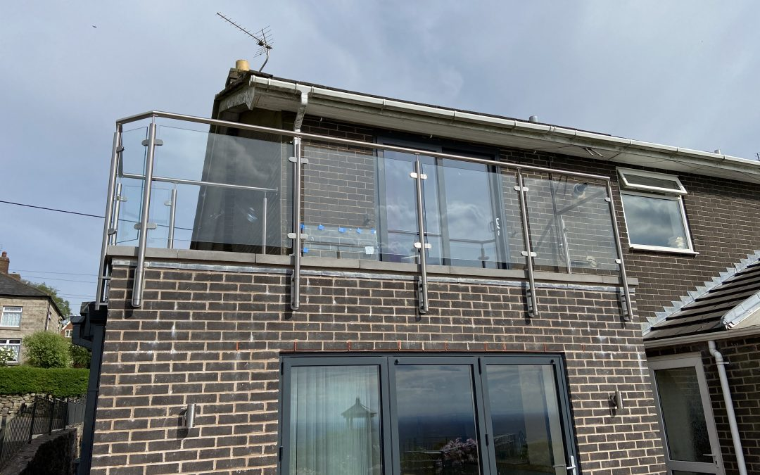 Glass Balustrade – project 20
