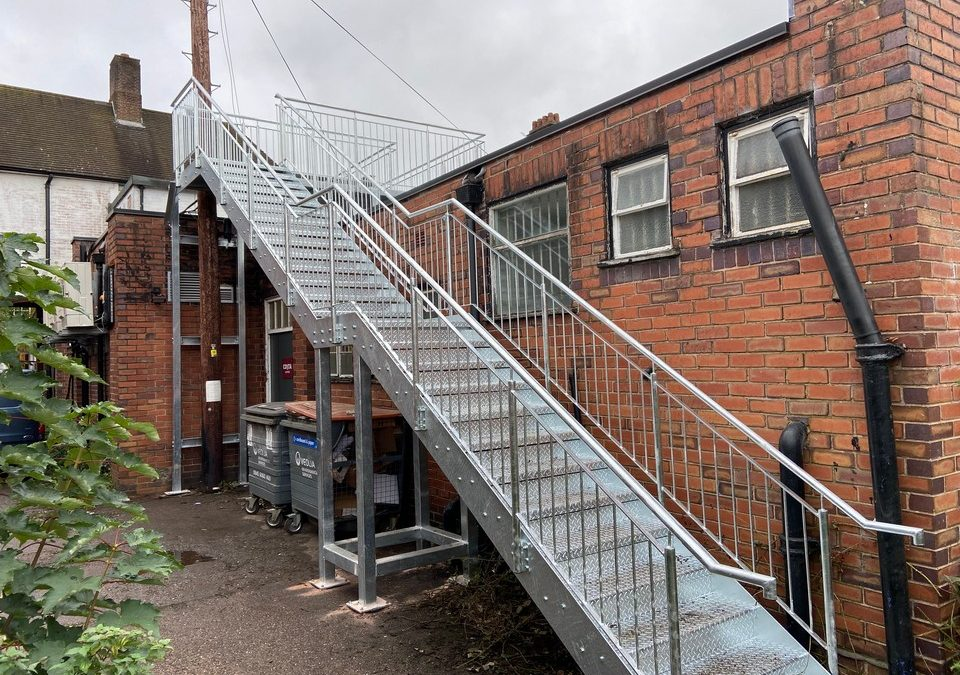 Fire Escapes / Access Stairs & Platforms – Project 10