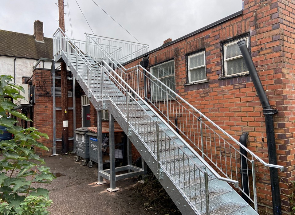 Access Stair and Walkway